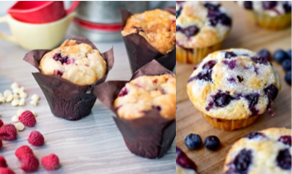 Classic Muffin Two Ways